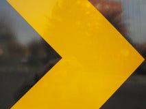 Freccia di traffico Fotografie Stock
