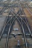 Freccia ferroviaria Fotografie Stock Libere da Diritti