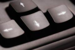 Freccia keys-2 fotografia stock