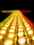 Freccia luminosa Fotografie Stock