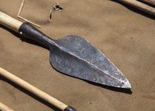 Freccia preistorica Fotografia Stock Libera da Diritti