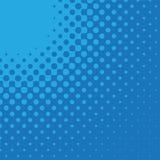 Freccia radiale - azzurro Fotografie Stock