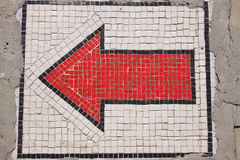 Freccia rossa Immagine Stock Libera da Diritti