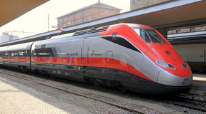 Freccia Rossa Train Stock Images
