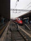 Frecciarossa high speed train in Rome Stock Photography
