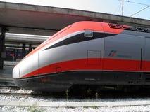 Frecciarossa highspeed train Royalty Free Stock Photos
