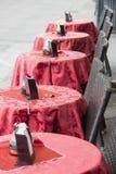 Frech室外咖啡馆 免版税图库摄影