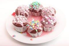Frech eigengemaakte muffins Royalty-vrije Stock Foto