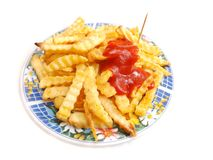 Frech french fries Royalty Free Stock Images
