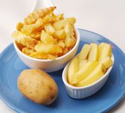 Frech french fries Stock Photo