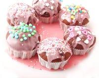 Frech hemlagade muffin Fotografering för Bildbyråer