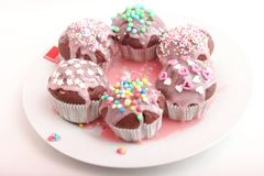 Frech hemlagade muffin Royaltyfri Foto