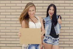 Freche Mädchen Lizenzfreie Stockbilder