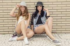 Freche Mädchen Stockfotos