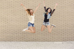 Freche Mädchen Lizenzfreie Stockfotografie