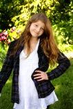 Freches jugendliches Mädchen Lizenzfreies Stockfoto