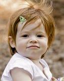 Freches kleines Mädchen Stockbild