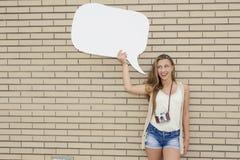 Freches Mädchen Lizenzfreies Stockfoto