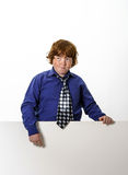 Freckled red-hair boy Royalty Free Stock Photos