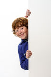 Freckled red-hair boy Stock Photo