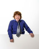 Freckled red-hair boy Stock Photography