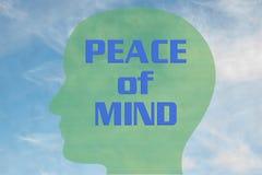 Fred av meningsbegreppet royaltyfri illustrationer
