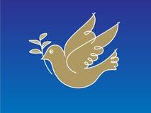 fred för 2 duva Arkivfoton