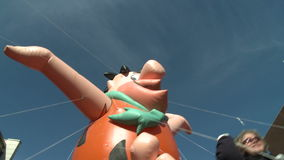 Fred Flintstone balloon at parade