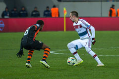 Fred and Franck Ribéry Royalty Free Stock Image