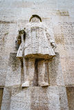 Fred Guillaume, reformation wall, Geneva, Switzerland. Royalty Free Stock Images