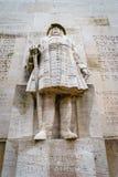 Fred Guillaume, reformowanie ściana, Genewa, Szwajcaria Obrazy Royalty Free