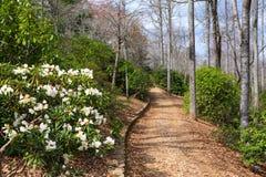 Fred Hamilton Gardens Hiawassee Georgia royaltyfri foto