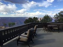 Fred Harvey Suite View Grand Canyon s lizenzfreie stockfotografie