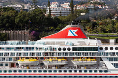 The Fred Olsen cruise ship, Balmoral Royalty Free Stock Image