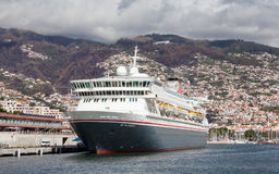 The Fred Olsen cruise ship, Balmoral Royalty Free Stock Images