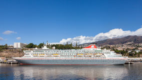The Fred Olsen cruise ship, Balmoral Royalty Free Stock Photography