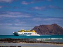 Fred Olsen ferry Stock Image