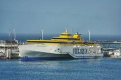 Fred Olsen Ferry Tenerife arkivbild