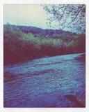 Fred på floden Arkivfoton