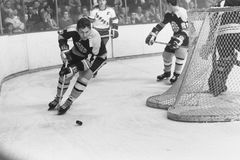 Fred Stanfield, Boston Bruins. Stock Images