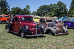 Fred Stokes Ranch Car Show 2014 Stock Image