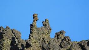 Fred y Barney Rock Formation Foto de archivo libre de regalías