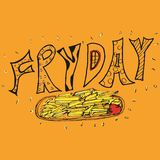 fredag mataffisch Arkivfoto