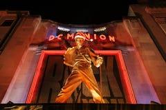 Freddie水星雕象 免版税库存照片