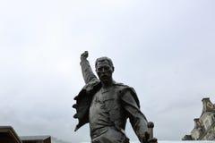 Freddie水星雕象 库存照片