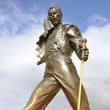Freddie水星雕象 免版税库存图片