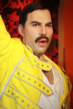 Freddie mercury. Rock star freddie mercury wax modell stock image