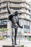 Freddie Mercury Statue Royalty Free Stock Images
