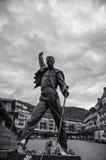 Freddie mercury statue Stock Image