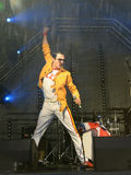 Freddie Mercury Tribute Royaltyfri Bild